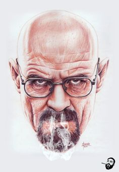 Heisenberg Chronicles • Walter White on Vapor by Cleofe Pacaña in Iligan...