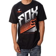 Fox Racing Men's Two Stroke Short Sleeve Tech Tee