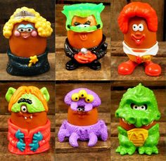 Set of 6 196 McDonald's Halloween McNugget Buddies Nerds Candy, Childhood Memories 90s, 90s Toys, Barbie Toys, Toys Land, Mcdonalds, Cool Toys, Vintage Toys, Nostalgia
