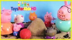 Peppa y su Familia en un dia de Playa - Peppa Pig en español - Peppa la ...
