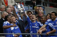 YES  CHELSEA FC  -  FA CUP Winners 2012