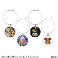 4 Charms Laxmi Narain Shiva Linga Ganapat Ganesha