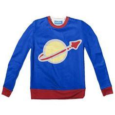 Space Man Youth Sweater by Shelfies Youth, Space, Sweatshirts, Fabric, Sweaters, Fashion, Display, Tejido, Moda