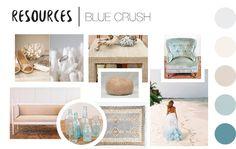 Archive Rentals Guest Designer: Valerie Killeen Blue Crush Resource // #archiverentals #vintagerentals #design
