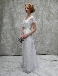 Sally Lacock, Vintage Inspired Vintage Wedding Dress Collection 2013-2014 | Bea