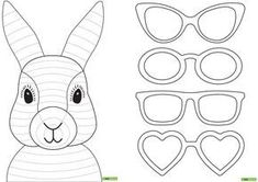 Easter Bunny Template Decorating for Easter should be easy and fun—not a complicated . Vorlage: Osterhase zu färben / Modèle: Lapin de Pâques à colorier Read the EASTER Bunny Legend and Easter eggs history Easter Bunny, also called the Easter Rabbit Easter Craft Activities, Bunny Crafts, Easter Art, Easter Crafts For Kids, Rabbit Crafts, Diy Crafts, Easter Ideas, Paper Crafts, Easter Bunny Template
