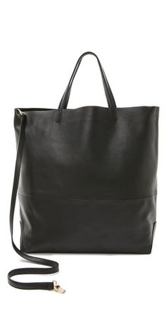 """Alice.D Leather Tote, recently deemed """"perfect,"""" cz it's not too slouchy, not too structured. It's just right!"""