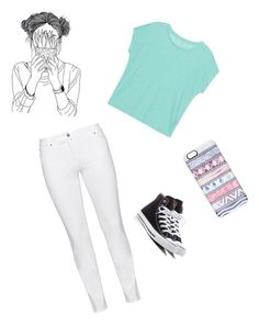 """""""Untitled #4"""" by hadley101 ❤ liked on Polyvore featuring Steilmann, Majestic Filatures, Converse and Casetify"""