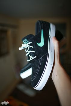 Nike sb janoski black/Tiffany