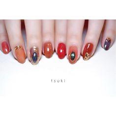 Love Nails, Cool Hairstyles, Nail Designs, Gemstone Rings, Stud Earrings, Gemstones, Beauty, Nailart, Nail Manicure