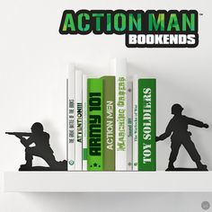 Action Man Bookends – Funky Store