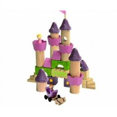 Plan Toys Fairy Tale Blocks Great way to use the Expedit for storing kids toys!