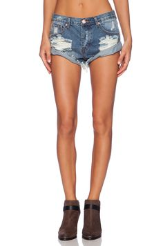 One Teaspoon Bandits Jean Short in Ford | REVOLVE