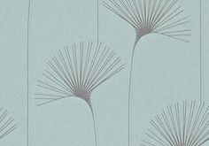 Harlequin Momentum Wallpaper - Delta - Slate, Duckegg and Silver