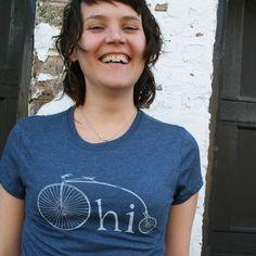 Ohio Bike T Shirt by AlisonRose on Etsy, $20.00