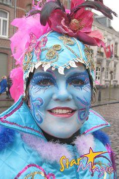Starmagic.nl schminkvoorbeelden carnaval