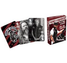 Sons of Anarchy Official Playing Cards Sealed Deck New Licensed