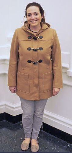 MICHAEL Michael Kors wool horn toggle coat with hood from Zappos.com
