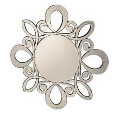Product Details Decorative Wall Mirror will attract instant attention from anyone walking into the room. It is sure to make a statement in your home.Features: Hanging Hooks IncludedOverall Dimension: