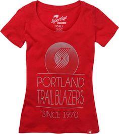 Portland Trail Blazers Women's Malibu Scoop Neck Tee