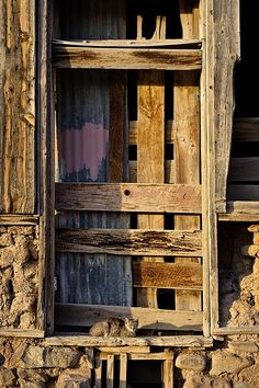 Cat in a doorway at Rancho De Taos, New Mexico