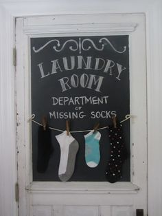Junk Chic Cottage - replace laundry room door with this...