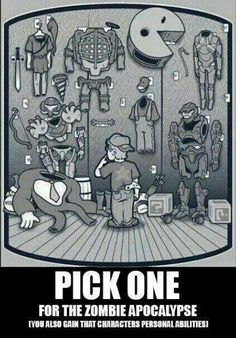 Samus hands down (Sorry Link, but it's a zombie apocalypse. We need lasers and stuff)