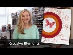 10 Cards in 20 minutes - Creative Elements Stamp Set - YouTube
