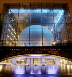 "The Hayden Planetarium (often called ""The Hayden Sphere"" or ""The Great Sphere"") is a public planetarium, part of the Rose Center for Earth and Space of the American Museum of Natural History in New York City, currently directed by astrophysicist Neil deGrasse Tyson. http://www.triphobo.com/hayden-planetarium-new-york-city-united-states"