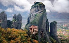 Meteora, Thessaly, Greece, photo by jzago!
