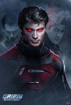 Crisis with infinite Supermen 😁 Arte Do Superman, Mundo Superman, Batman E Superman, Superman Artwork, Spiderman, Superman Man Of Steel, Superman Suit, Superman Cosplay, Dc Cosplay