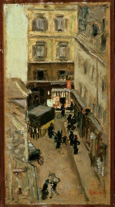 Pierre Bonnard - Narrow Street in Paris 1897