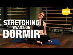 Fitness Master Class - Stretching avant de dormir - YouTube pour bien dormir aprés le sport