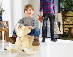 DIY: houten hobbelolifant