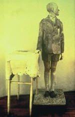 """Magazyn Sztuki - archiwum tekstów: nr 19/98 """"Każdy chłopiec boi się inaczej"""" wywiad Bożeny Czubak z Mirosławem Bałką"""