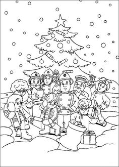 Lego fire station coloring page for kids, printable free. Lego ...