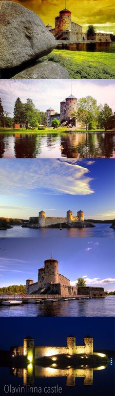 mittelalterliche Burg Olavinlinna in Savonlinna     http://www.finnland-rundreisen.com/de/Reiseziele/Savonlinna