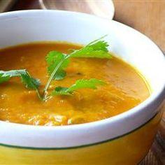 Foto recept: Thaise kokos-pompoensoep