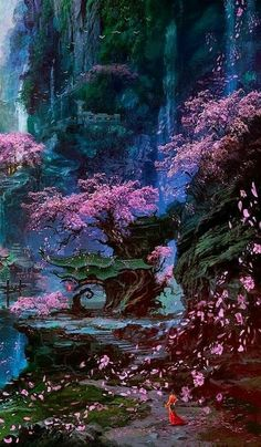 ideas for fantasy landscape nature magical forest – Landscaping 2020