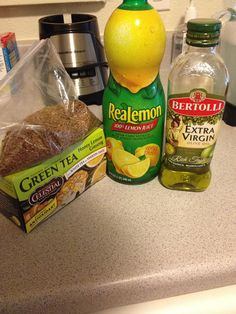 DIY Colon Cleanse / Laxative.... Tsp ground flaxseed Tsp Olive Oil Tbsp Lemon Juice (fresh lemon is probably better) Optional: Caffeinated Tea... Boil water, mix ingredients in your favorite mug and wait at least an hour before you go anywhere. Drink first thing in the morning or on empty stomach and drink it as hot as you can stand it!