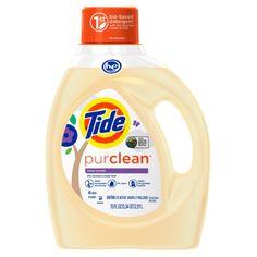 Tide PurClean Liquid Laundry Detergent, Honey Lavender Scent, 75 Oz, 48 Loads