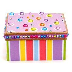 Nicole™ Crafts Rhinestone Box