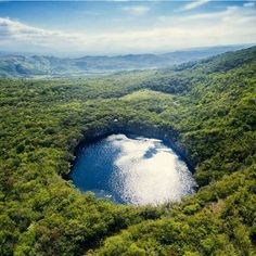 Cenote mayor de Cand