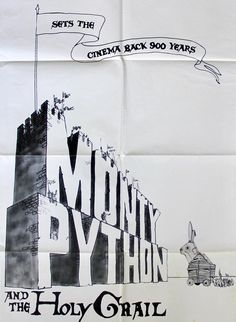 Monty Python and the Holy Grail (1975) Original One-Sheet Movie Poster