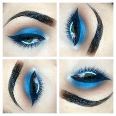 Blue smokey & heavy liner