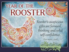 Chinese Zodiac Rooster years are 1957, 1969, 1981, 1993, 2005, 2017, 2029. Get in-depth info on the Year of the Rooster traits & personality! #rooster #yearoftherooster #chinesezodiac #chinesezodiacsigns #chinesenewyear #horoscope #astrology Name Astrology, Chinese Astrology, Aquarius Astrology, Taurus, Chinese Zodiac Rooster, Chinese Zodiac Signs, Rooster Year, What Is Birthday, Sign Meaning