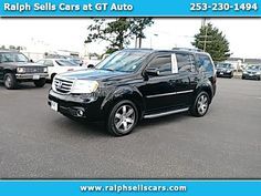 Used 2012 Honda Pilot Touring 4wd 5 Spd At With Dvd For Sale In Tacoma Wa 98409 Ralph Sells Cars At Gt Auto Honda Pilot 2012 Honda Pilot Used Suv