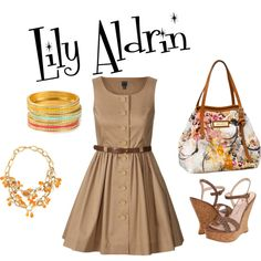 """Inspired by Lily Aldrin """"How I Met Your Mother"""", created by laurastcroix on Polyvore"""