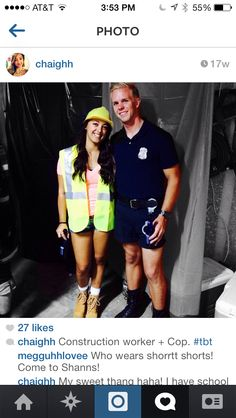 Cute Construction Worker Costume