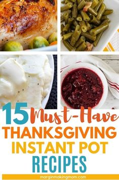Simplify Thanksgiving dinner with these easy Instant Pot Thanksgiving side dishes! The recipes put your pressure cooker to work, allowing you to enjoy your favorite traditional recipes with less effort! Pressure Cooker Mashed Potatoes, Pressure Cooker Turkey, Instant Pot Pressure Cooker, Thanksgiving Side Dishes, Thanksgiving Recipes, Holiday Recipes, Pumpkin Recipes, Turkey Recipes, Pressure Cooking Today